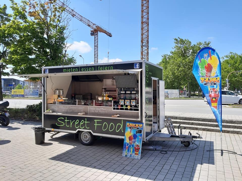 Marcos Streetfood Truck - Slush Eis