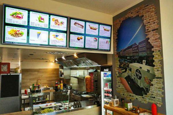 Marco Streetfood - Imbiss von Innen